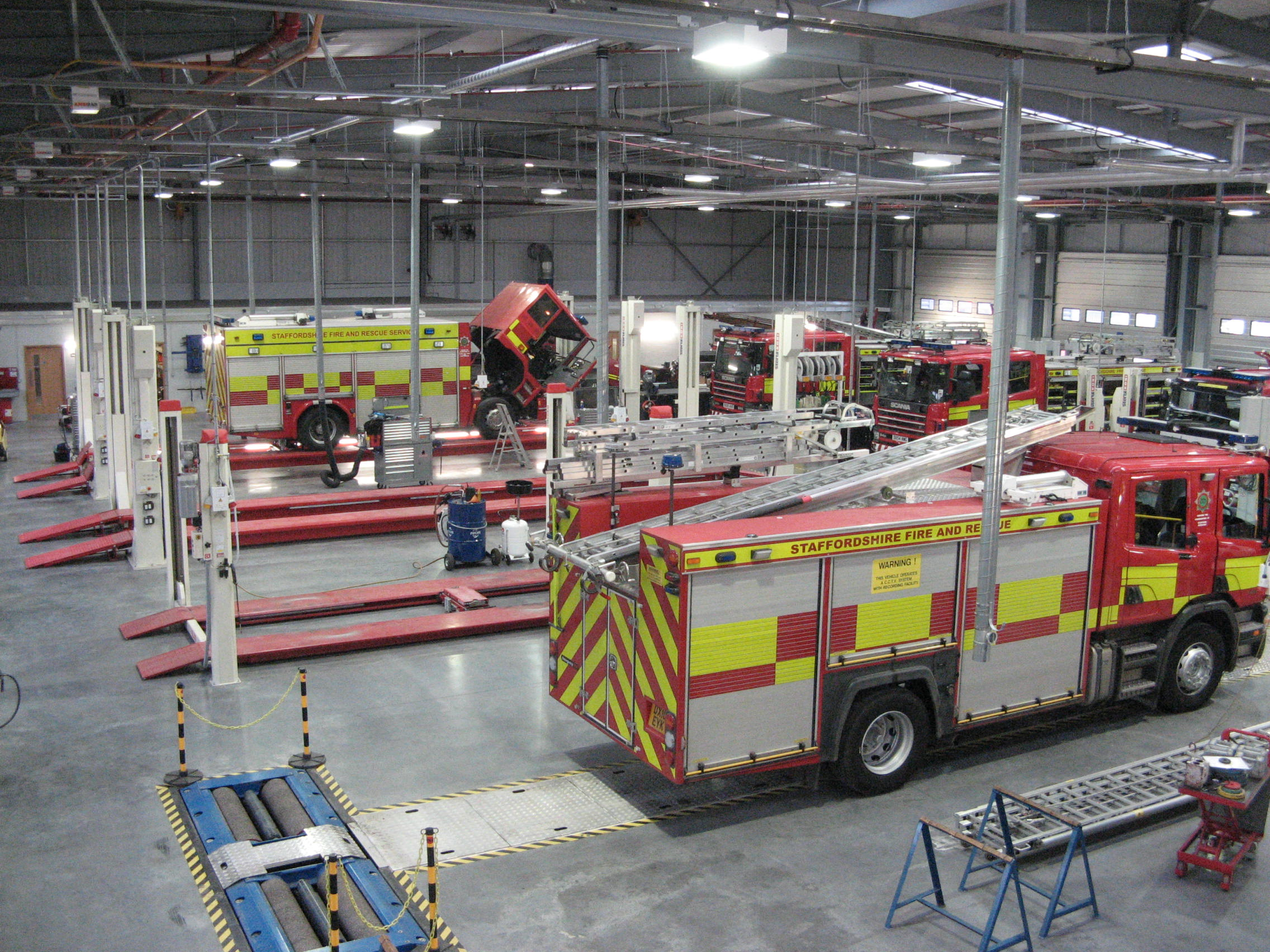 Staffordshire Fire And Rescue Service Maber