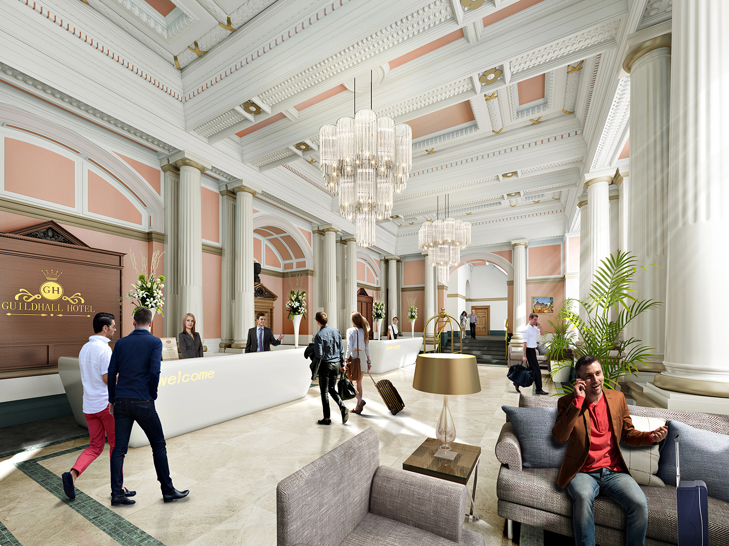 Guildhall place maber for High end boutique hotels
