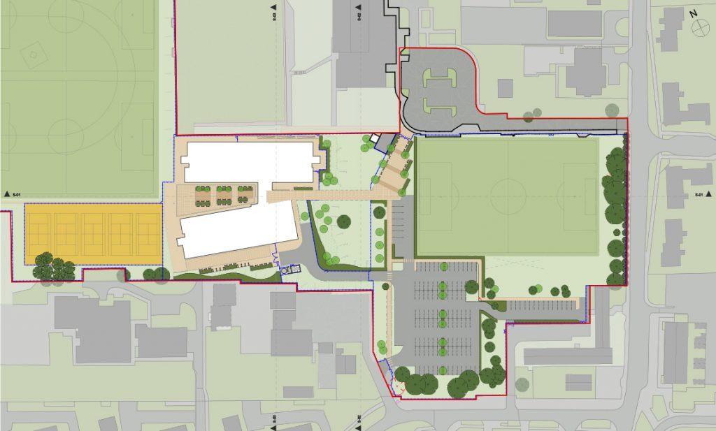 Westfield academy maber for Site plan app